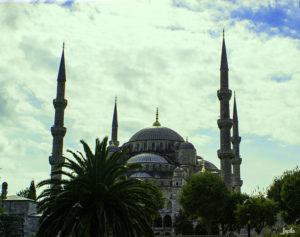 Blaue Moschee im Gesamtbild