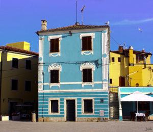 Blaues Haus Kroatien