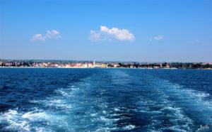 Bootsfahrt zum Park Kroatien