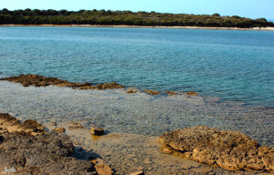 Bucht im Brijuni Nationalpark