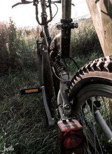 Fahrrad im Morgenlicht