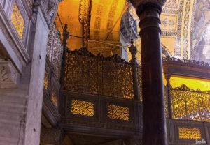 Gebetskanzel der Hagia Sophia