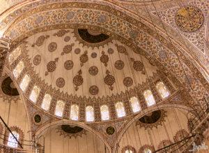 Kuppel der Moschee Hagia Sophia