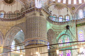 Innenraum der Moschee Hagia Sophia
