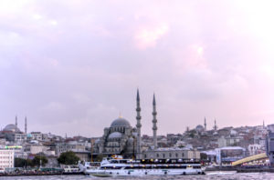 Moschee am Tag Bosporus
