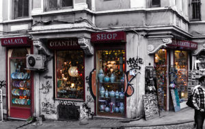 Souvenierladen in Istanbul