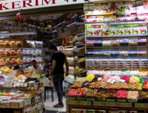 Süßigkeitengeschäft in Instanbul