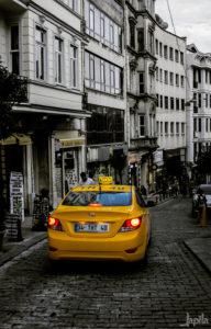 Taxi in der Türkei