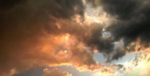 Wolken in Gut und Böse