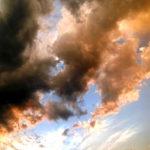 Stille Wolkenbewegungen