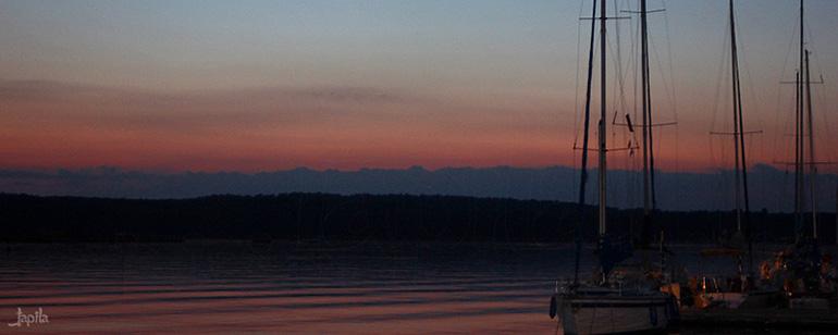 Boote am Abend Vorschau
