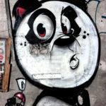 Bunte Graffiti Figuren