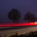 Autos in der Nacht